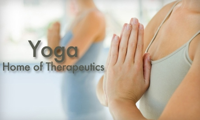 Yoga Home of Therapeutics - Council Heights: $20 for Five Yoga Classes at Yoga Home of Therapeutics
