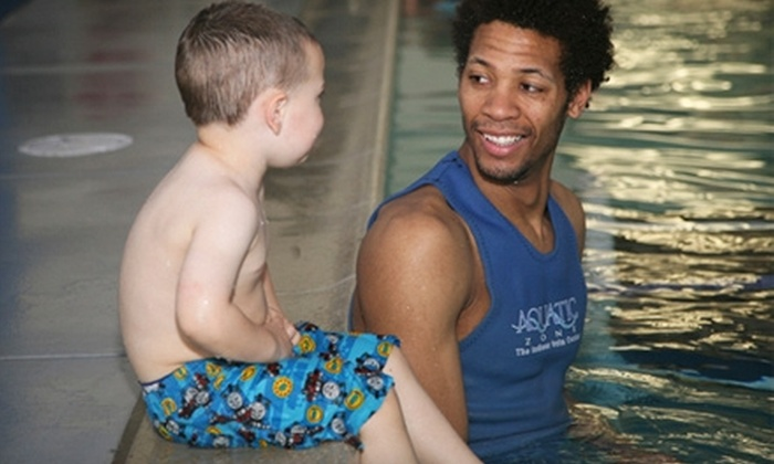 The Aquatic Zone - Corona: $27 for One Month of Weekly Swim Lessons at The Aquatic Zone in Corona ($54 Value)