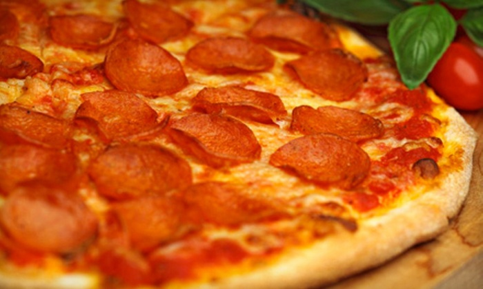 Papa Saverio's Pizzeria - Aurora-Eola: $15 for $30 Worth of Pizza, Pasta, and American Fare at Papa Saverio's Pizzeria in Aurora