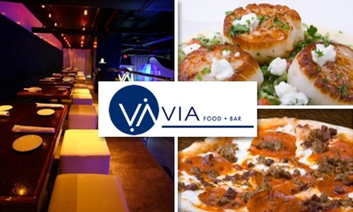 Via - Peachtree Heights West: $20 for $45 Worth of Modern Italian Dishes and Drinks at Via