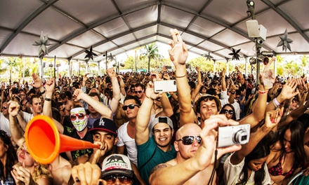 Miami Massive All-Night EDM Party at Nikki Beach on March 24 from Noon to 5 a.m. (Up to 49% Off)