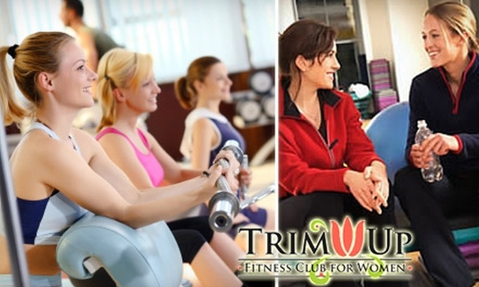 Trim Up - Matthews: $39 for 12 Drop-in Group-Exercise Classes for Women at Trim Up