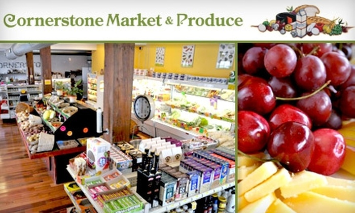 Cornerstone Market - Northern Liberties/ Fishtown: $15 for $30 Worth of Sandwiches, Salads, Groceries and More at Cornerstone Market & Produce