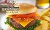 Brunos Bar and Grill - Copper Cliff: $10 for $20 Worth of Lunch Fare or $25 Worth of Dinner Fare at Bruno's Bar and Grill