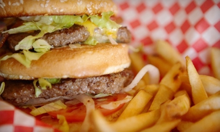 Fat Dog's Grille & Pub - Lindley Park: $8 for $16 Worth of American Pub Fare at Fat Dog's Grille & Pub