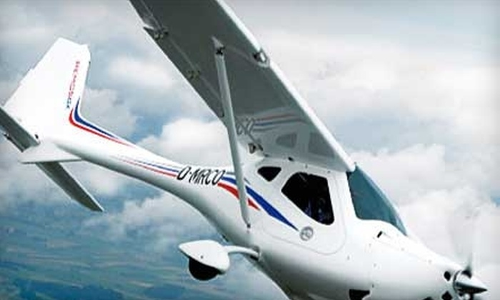 Pilot Journey: $75 for a Discovery Flight and Ground Lesson at a Participating Flight School Through Pilot Journey ($149.95 value)