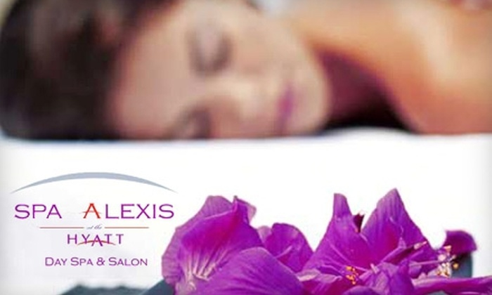Spa Alexis - Central Business District: Spa Services at Spa Alexis. Three Options Available.