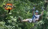 Carolina Ziplines Canopy Tour - Quaker Gap: $80 for a Two-Hour High-Course Zipline Tour for Two from Carolina Ziplines Canopy Tour (Up to a $160 Value)