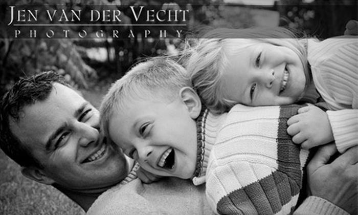 Jen van der Vecht Photography - Toronto (GTA): $75 for a One-Hour Photography Session from Jen van der Vecht Photography (a $370 Value)