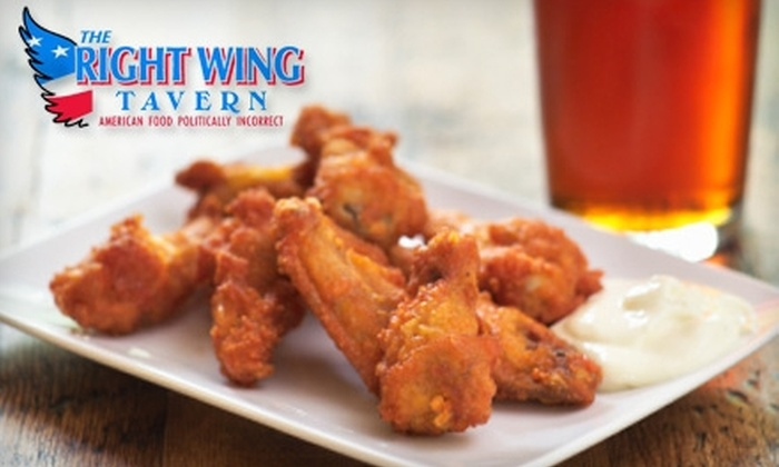 Right Wing Tavern - Woodstock: $10 for $25 Worth of Fare and Drinks at Right Wing Tavern in Woodstock