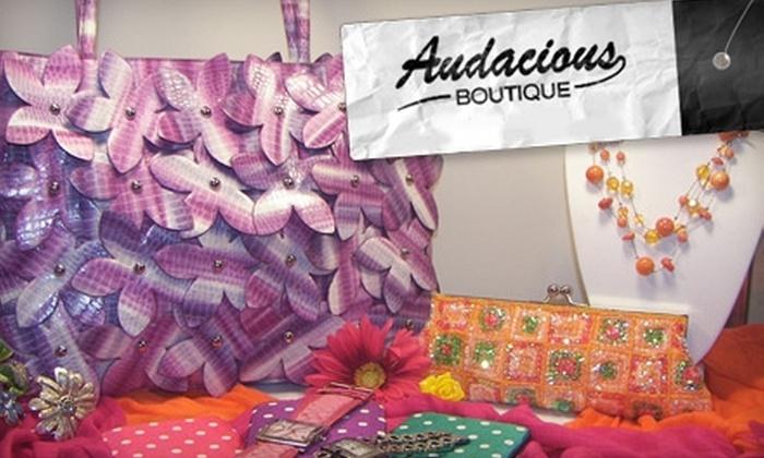 Audacious Boutique - Dublin: $20 for $40 Worth of Fashion Accessories at Audacious Boutique in Dublin