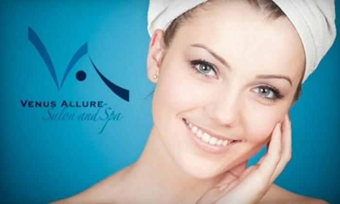 Venus Allure Salon and Spa - Buckman: $35 for $75 Worth of Services at Venus Allure Salon and Spa