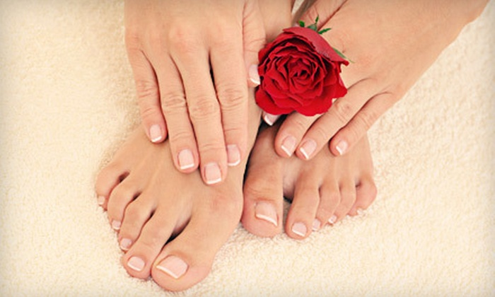Pretty Natural Nails - Pretty Natural Nails: One or Two Mani-Pedis at Pretty Natural Nails in Decatur (Up to 56% Off)