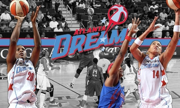 Atlanta Dream - Downtown: $8 for One Ticket to a WNBA Atlanta Dream Home Game ($25 Value). Choose from Four Games.