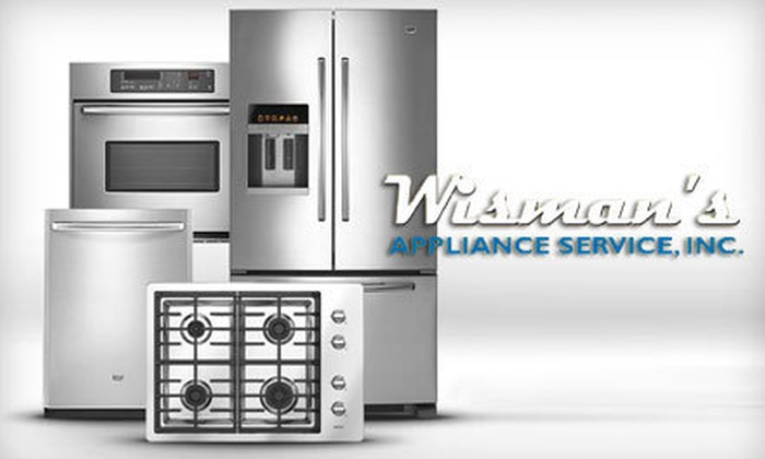 """Wisman's Appliance Service, Inc. - Fort Wayne: $75 for $200 Worth of """"Scratch and Dent"""" Appliances at Wisman's Appliance Service, Inc."""