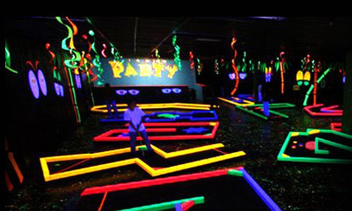 Lights Off Golf - Amarillo: Two or Four Rounds of Mini Golf at Lights Off Golf (Up to 54% Off)