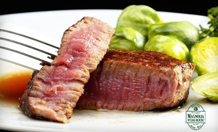 $30 Groupon to Magnolia Bar & Steak House - Magnolia Bar & Steak House in Luverne