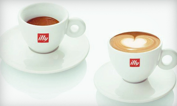 Espressamente Illy - Media and Entertainment District: Lunch for Two with Drinks or $5 for $10 Worth of Café Fare at Espressamente Illy