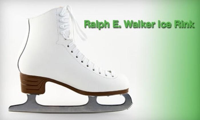 at Ralph Walker Ice Skating Rink - Fair Haven: $15 for Family Ice Skating and Rental at Ralph Walker Ice Skating Rink (Up to a $36 Value)