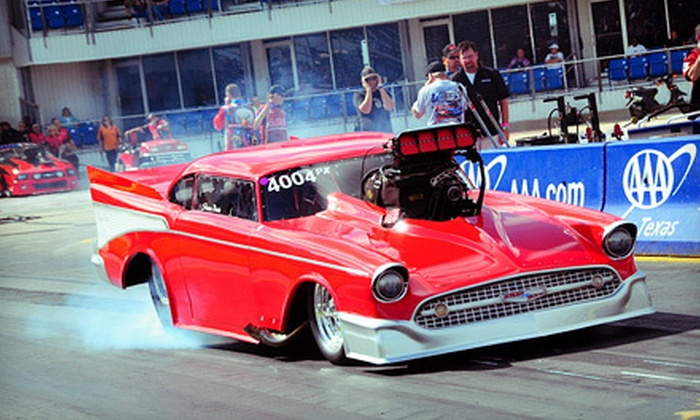 American Drag Racing League's Memphis Drags III - 4: One or Two Days at ADRL Memphis Drags III Racing Event for Two on September 7–8 (Up to 58% Off)