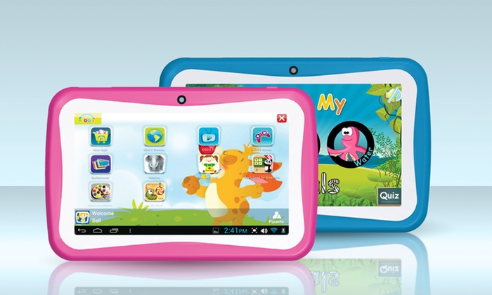 "7"" Supersonic Munchkinz Kids' Tablet with Kido'z Software: 7"" Supersonic Kids' Tablet with Kido'z Software in Blue or Pink. Free Returns."