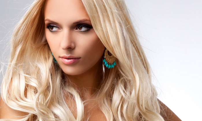 Le Hair and Nail - Beautiful Hair and Nail Spa: Shampoo, Haircut, and Style with Optional Partial or Full Highlights at Le Hair and Nail (Up to 56% Off)