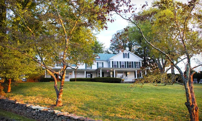 Briar Patch Bed and Breakfast Inn - Middleburg, VA: Two-Night Stay with Wine Tastings, Bottle of Wine, and Chocolates at Briar Patch Bed and Breakfast Inn in Middleburg, VA