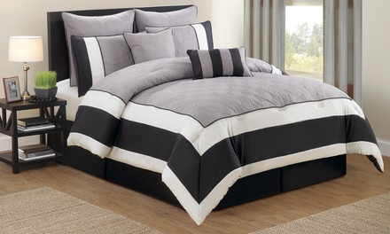 Spain 8-Piece Oversized and Overfilled Comforter Set