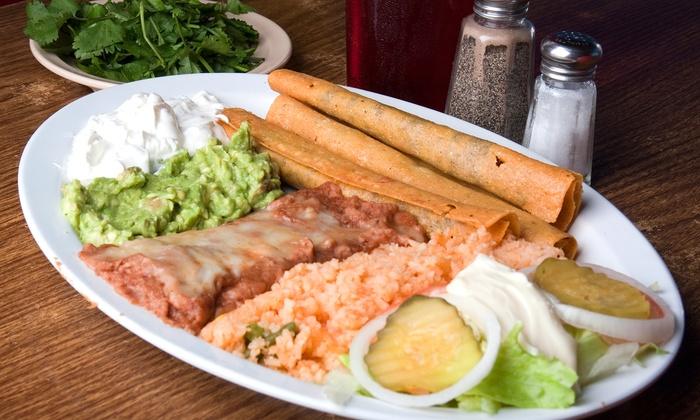 Toribio's Mexican Grill & Bar - McDonough: Mexican Food at Toribio's Mexican Grill & Bar (50% Off). Two Options Available.