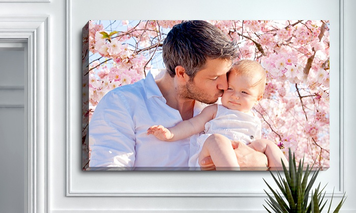 PrinterPix: Custom Photo Canvas from PrinterPix (Up to 71% Off). Multiple Sizes Available.