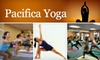 Pacifica Yoga - Sharp Park: $39 for Two Months of Unlimited Yoga at Pacifica Yoga