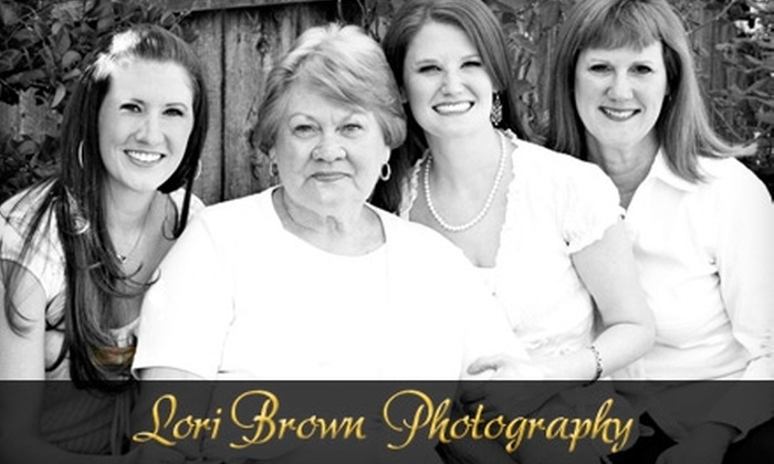 Lori Brown Photography - Multiple Locations: $59 for a 45-Minute Photography Session and Photo CD, Plus 30% Off Prints, from Lori Brown Photography ($249 Value)