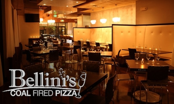 Bellini's Coal Fired Pizza - Poinsettia Heights: $10 for $20 Worth of Pies and Potables at Bellini's Coal Fired Pizza
