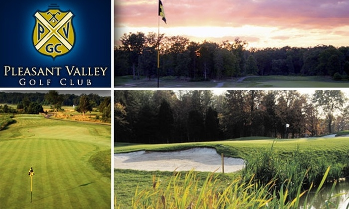 Pleasant Valley Golf Club - Sully: $49 for 18 Holes with GPS Cart at Pleasant Valley Golf Club