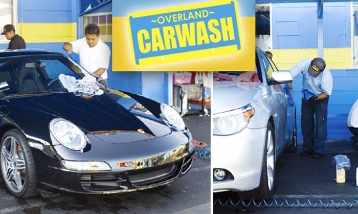 Overland Car Wash - Palms: Five Soft-Cloth Car Washes at Overland Car Wash