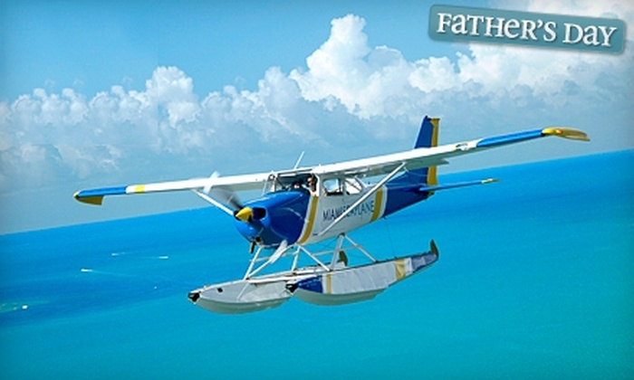 Miami Seaplane Tours - Virginia Key: $75 for a 30-Minute Seaplane Tour from Miami Seaplane Tours in Key Biscayne ($150 Value)