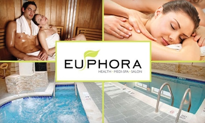 Euphora Citi - Sunnyside: $59 Facial or 30-Minute Massage, Plus All-Day Access to Bania, at Euphora Citi (Up to $175 Value)