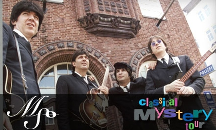 """Mississippi Symphony Orchestra - Multiple Locations: $20 for Two Tickets to the """"Classical Mystery Tour"""" Show at the Mississippi Symphony Orchestra ($40 Value)"""