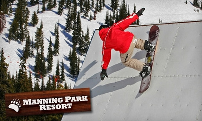 Manning Park Resort - Manning Park: $22 for a Weekend Lift Ticket ($45 Value) or $15 for a Weekday Lift Ticket ($35 Value) at Manning Park Resort