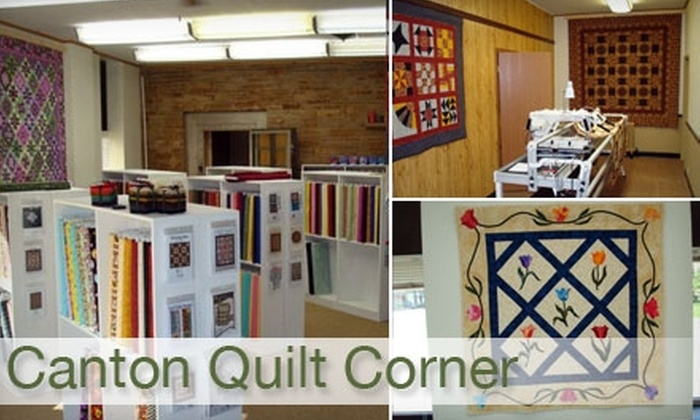 Canton Quilt Corner - Canton: $12 Quilting Class at Canton Quilt Corner ($25 Value)