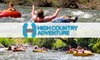 High Country Adventure - American Fork-Pleasant Grove: $10 for Two Fun-Filled Hours of Tubing from High Country Adventure (Up to $30 Value)