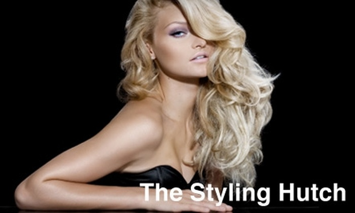 The Styling Hutch - Plano: $75 for an Ouidad Cut and Deep-Conditioning Treatment at The Styling Hutch in Plano (Up to $155 Value)