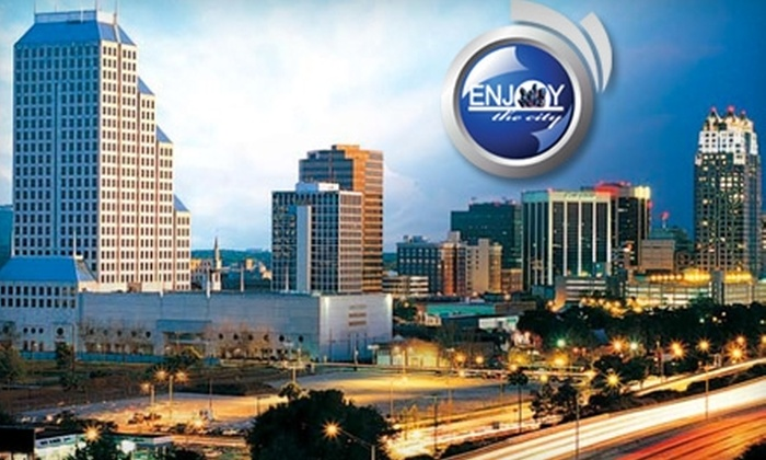 Enjoy the City: $12 for a Book of Discounts from Enjoy the City ($24.95 Value)