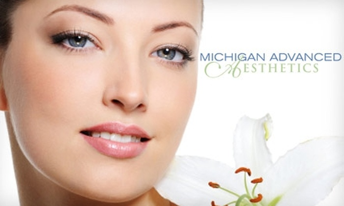 Michigan Advanced Aesthetics - Royal Oak: $30 for a Rejuvenating Facial at Michigan Advanced Aesthetics ($85 Value)