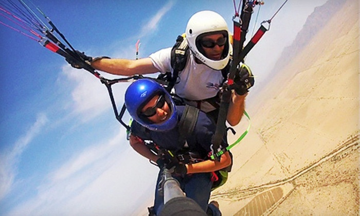 Paraglider Rides - Phoenix: Tandem Paragliding Instructional Flight for One or Two from Paraglider Rides (Up to 60% Off)