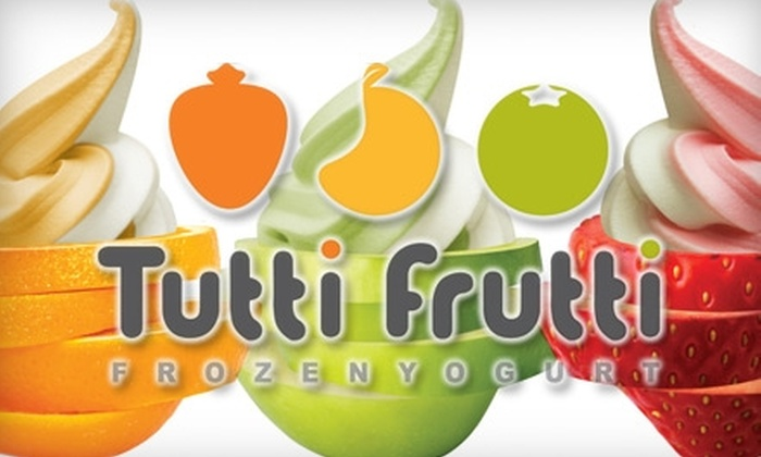 Tutti Frutti  - Homewood: $5 for $10 Worth of Frozen Yogurt, Toppings, Fun Flavors, and More at Tutti Frutti