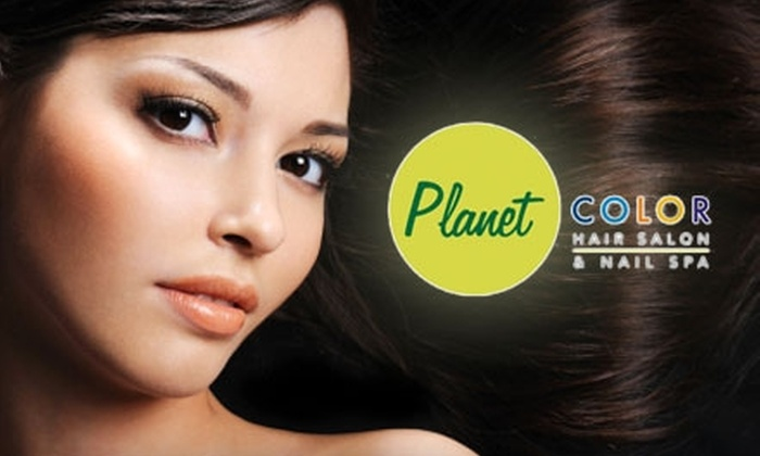 Planet Color Salon & Nail Spa - Andover: $149 for a Brazilian Blowout at Planet Color Salon & Nail Spa in Andover