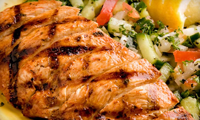 CK Mediterranean Grille & Catering - Theater District,Downtown,Greektown: Mediterranean Fare for Dinner or Lunch at CK Mediterranean Grille & Catering (Half Off)