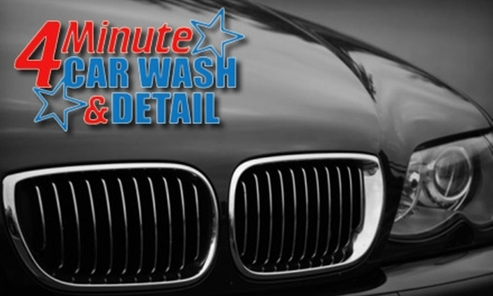 4 Minute Carwash - Cumming: $6 for a Wash and Tire Shine ($12 Value) or $59 for an Ultimate Detail ($120 Value) at 4 Minute Car Wash in Cumming