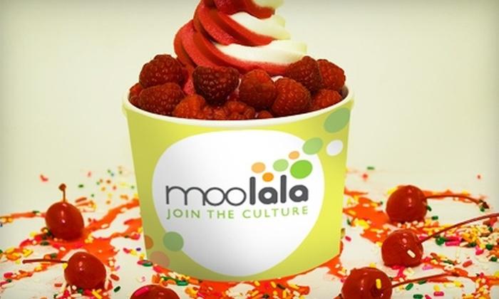 Moolala - Merrick: $4 for $8 Worth of Frozen Yogurt and Cupcakes at Moolala in Merrick